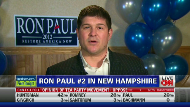 Ron Paul campaign chair on 2nd place