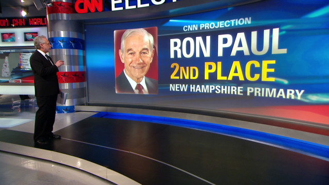 New Hampshire's race for second, third