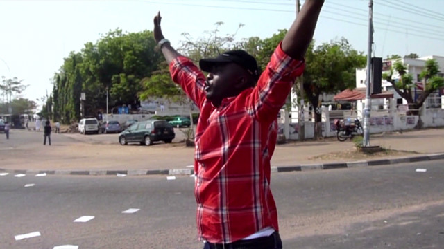 Nigerian protestor: 'I'm ready to die'