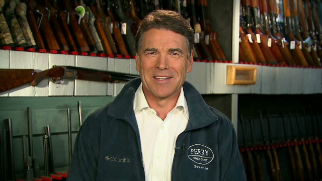 Rick Perry: 'I'm here to win'