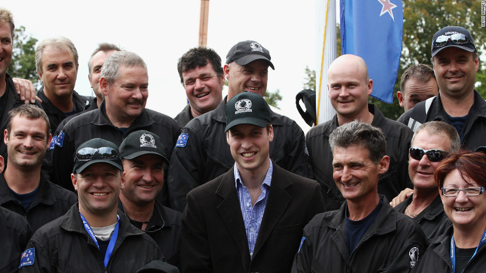 Headwear appears to be a popular present -- Prince William was given many baseball caps during a visit to New Zealand and Australia in March 2011, shortly before his wedding.