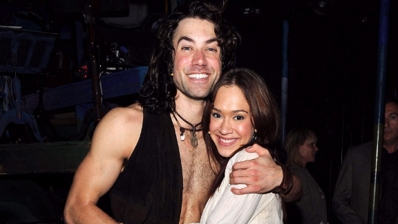 Ace Young and Diana DeGarmo, shown here attending