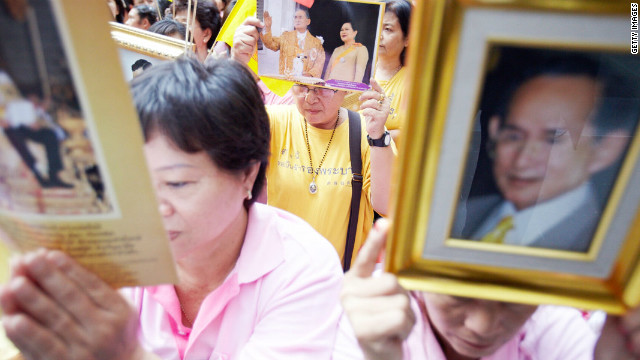 Insulting the royal family in Thailand is a serious crime that can mean prison sentences for offenders.