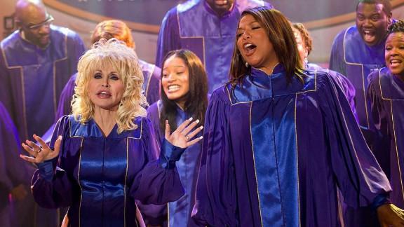 "Dolly Parton and Queen Latifah star in ""Joyful Noise."""