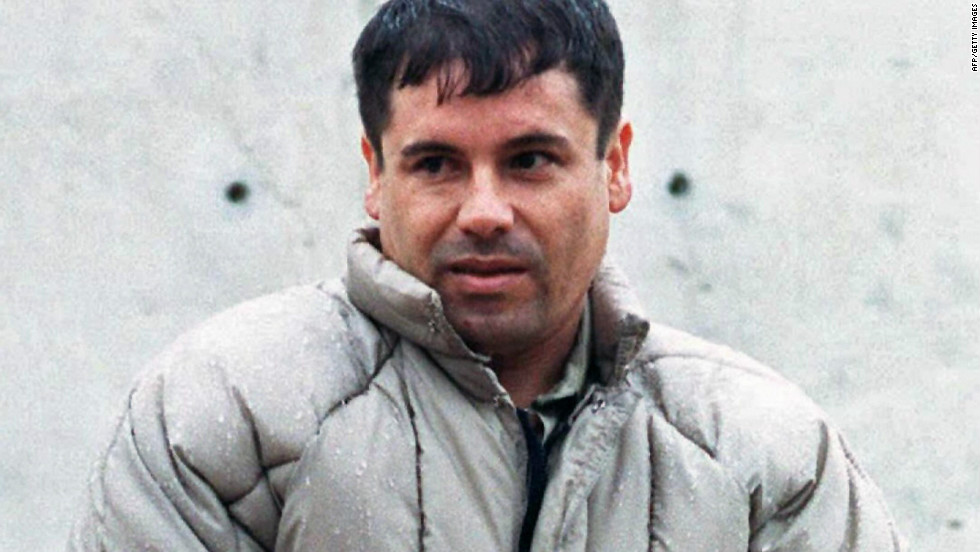 "Joaquin Guzman, or ""El Chapo"" (Shorty), is the boss of the Sinaloa cartel. In this last-known photo taken outside a Juarez prison in 1993, the 5 foot 6 inch son of a poor family wears a schoolboy haircut and a disheveled puff-coat. He has eluded capture for more than a decade."