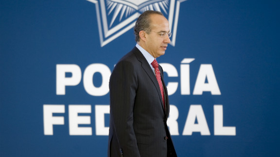 After his election in 2006, President Felipe Calderon declared war on the cartels, sending the military out across the country and fired hundreds of corrupt police officers. Calderon