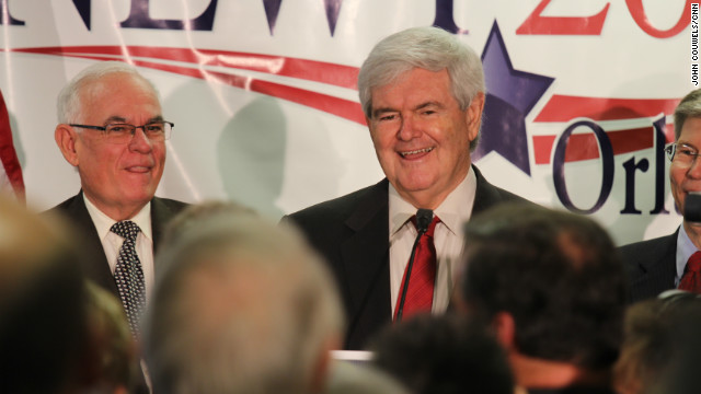 Newt Gingrich says Mitt Romney needs to show now how he will defend himself in a campaign against President Obama.