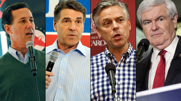 The names of Rick Santorum, Rick Perry, Jon Huntsman and Newt Gingrich will not appear on the Virginia primary ballot.