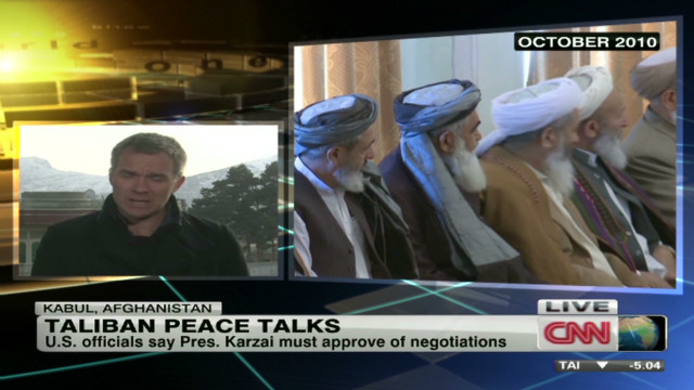 Peace talks with the Taliban