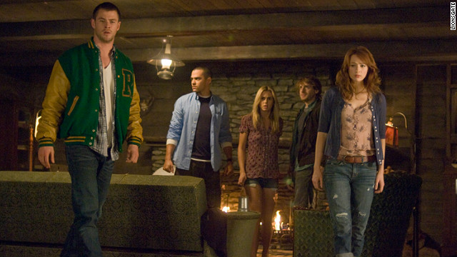 "A  ""Cabin in the Woods"" offers a new twist on the old genre of horror films."