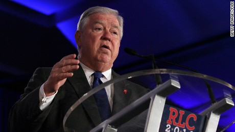 NEW ORLEANS, LA - JUNE 17:  Mississippi Gov. Haley Barbour speaks during the 2011 Republican Leadership Conference on June 17, 2011 in New Orleans, Louisiana. The 2011 Republican Leadership Conference runs through tomorrow and will feature keynote addresses from most of the major Republican candidates for president as well as numerous Republican leaders from across the country.  (Photo by Justin Sullivan/Getty Images)