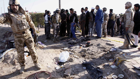 A suicide bombing near Basra  killed more than 50 people on January 14. Over the past two weeks, hundreds of Iraqis have been killed and wounded in violence across the country.