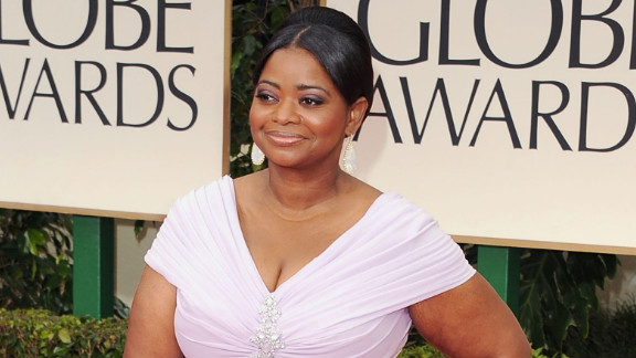 """The award for best supporting actress in a film went to Octavia Spencer who played a maid in the Civil Rights era movie """"The Help."""""""
