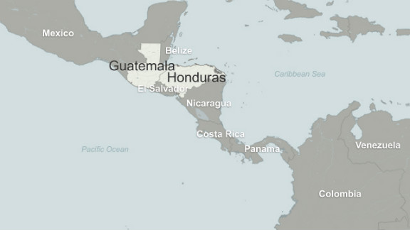 Map: Central America
