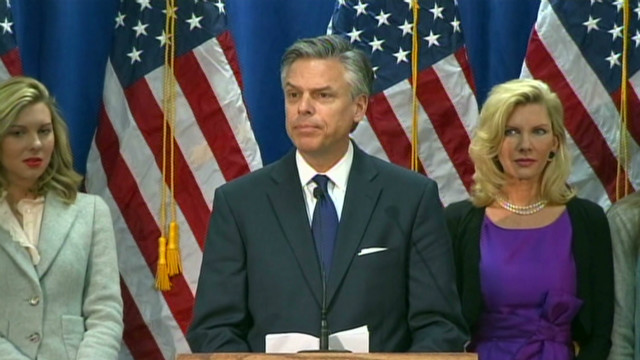 Huntsman attacks negative ads