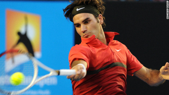 Roger Federer had few problems in beating Alexander Kudryavtsev in his opening match at the Australian Open on Monday.