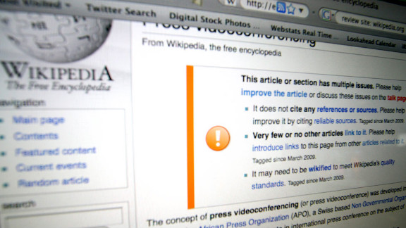 Oxford University researchers took a look at Wikipedia