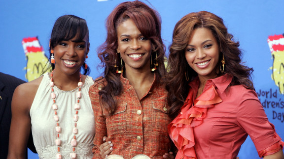 Kelly Rowland, Michelle Williams and Beyoncé Knowles of Destiny