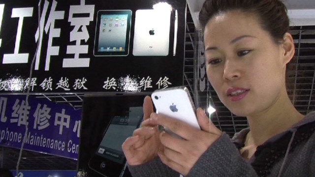 China's Apple black market