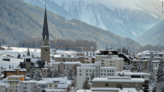 Behind the scenes in Davos