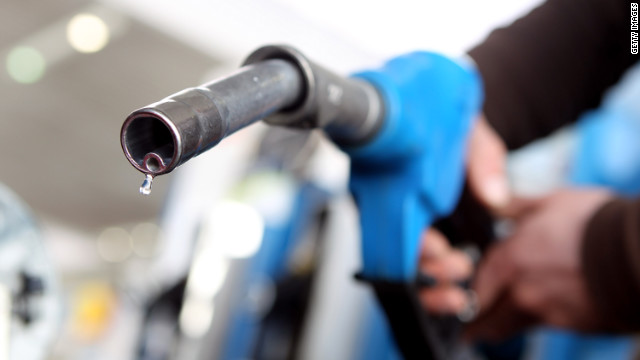 The average price of gas in the U.S. has climbed 36 cents per gallon over the past year.