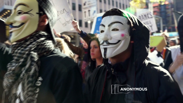 "The ""hacktivist"" group Anonymous is taking credit for jamming several government and industry websites."