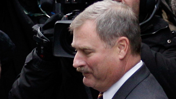 Former Penn State vice president Gary Schultz said he didn't think the activity in the shower was a crime.