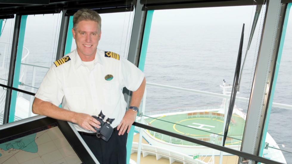 The Life Of A Cruise Ship Captain CNN Video - Captain on cruise ship