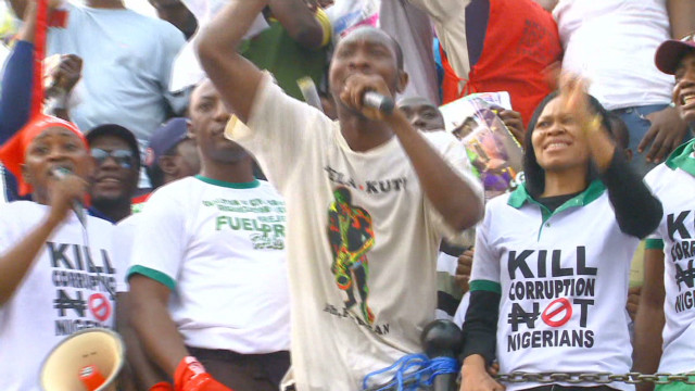 Nigerians turn attention to corruption