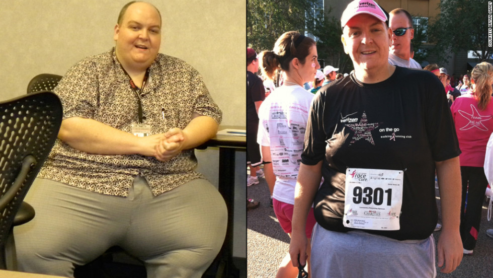 "iReporter Bryan Ganey dropped 270 pounds after a death scare in 2010. His secret isn't a secret at all, he says. ""No gimmicks, no pills, no special foods. Just good old-fashioned common sense."""