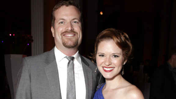 """She [Sarah Drew] and her husband, Peter Lanfer, are in love with him!"" the rep says of the couple"