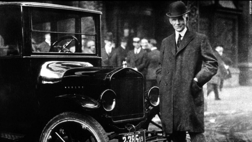 The auto magnate was a noted tinkerer of gasoline engines before going into business, but business did not start well. His first auto company went bankrupt; he left the second after clashing with a consultant. The third firm became the Ford Motor Co. we know today.