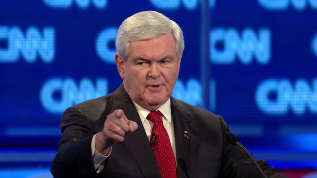 Gingrich lashes out on 'ex' question