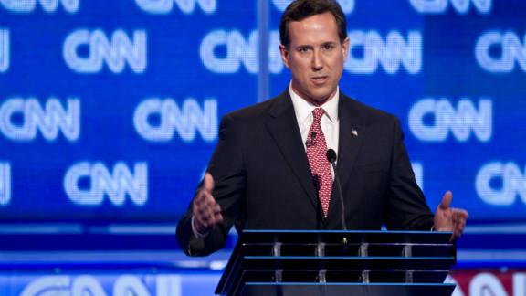 Former Sen. Rick Santorum scored strongly at Thursday night's CNN South Carolina Republican debate, says Todd Graham.