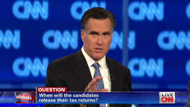 Romney: I'll release my returns in April