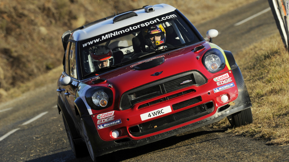 In April 2010, Mini announced it would return to the World Rally Championship for 2011. Spanish driver Dani Sordo is pictured here driving for the team in this year's race.