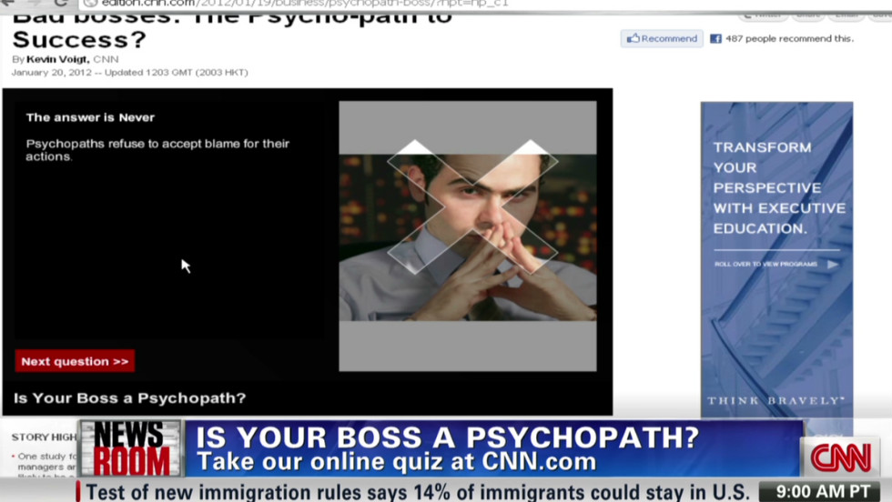 psychopaths in business