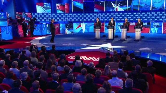 Candidates go after each other in debate
