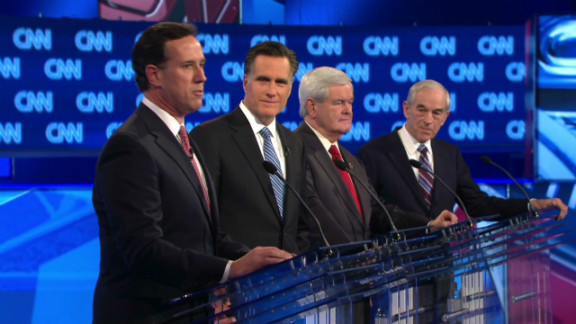 The four remaining candidates in the GOP presidential race take part in the CNN debate Thursday night in South Carolina.