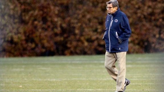 Paterno came in for a lot of criticism after the Sandusky scandal broke.