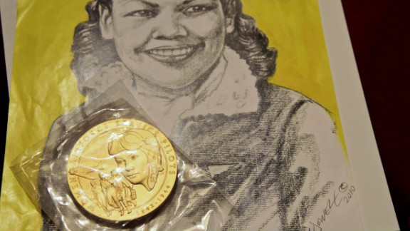 """In February, Mildred Carter received a WASP medal with the inscription: """"The First Women in History to Fly America"""""""