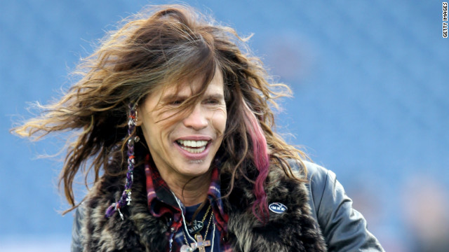 Believe it or not, rocker Steven Tyler had never before been to the Playboy Mansion.