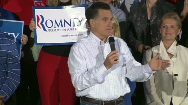 Romney takes aim at Gingrich in Florida