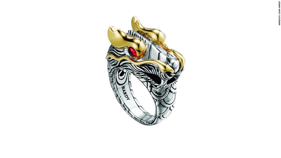 John Hardy's Naga jewelry line takes its name from a half-human, half- serpent being said to live on top of a volcano.