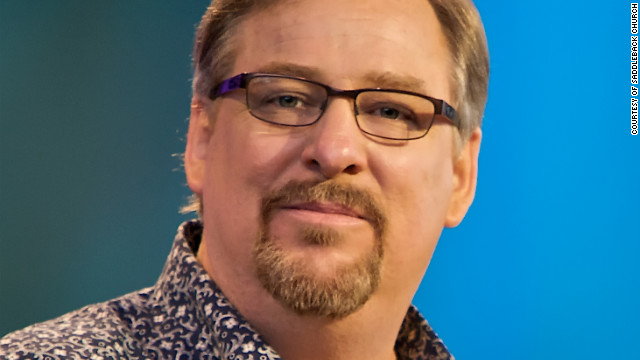 Rick Warren told his church that he gave up carbonated drinks, dairy and fast food. His trainer says he works out twice a day.