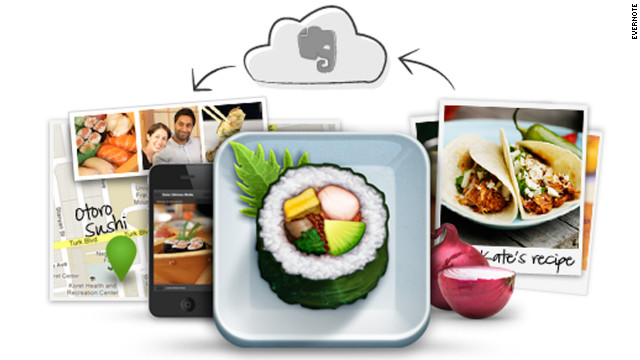 Evernote Food helps you preserve and share eating experiences.