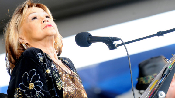 Etta James died January 20 at the age of 73 of complications due to leukemia.