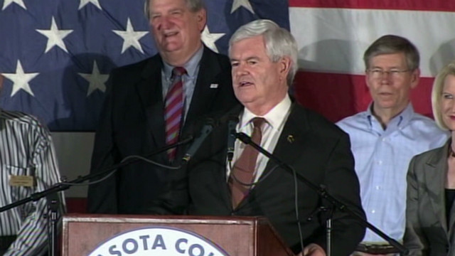 Gingrich likens GOP race to Rubio-Crist