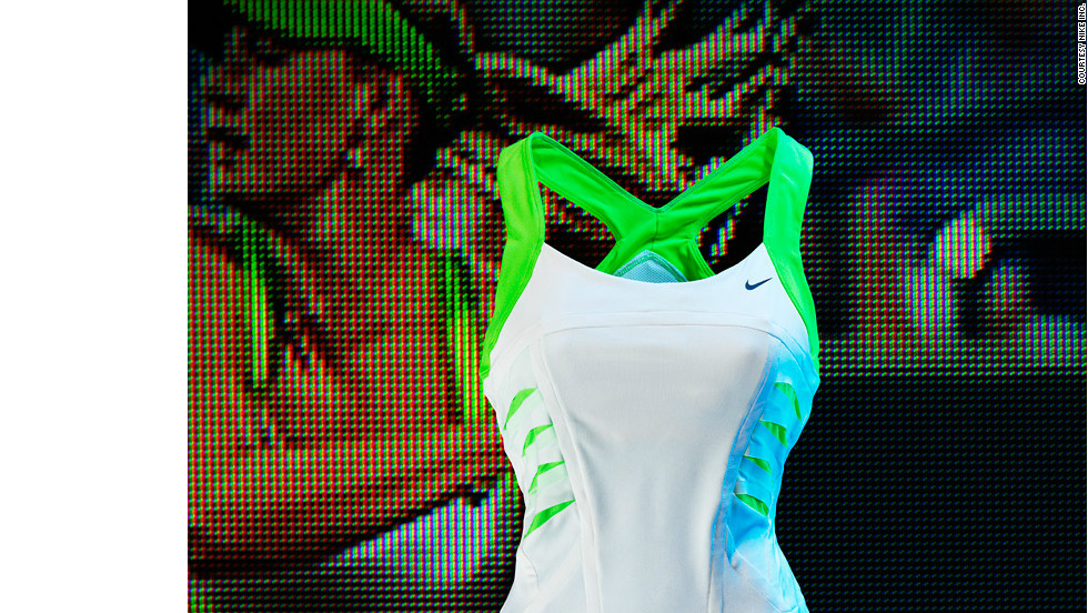 Her dress for the tennis season's opening grand slam was designed to embrace fashion and high performance.