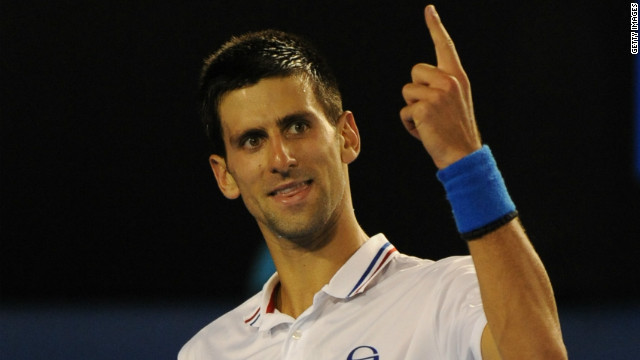 World No. 1 Novak Djokovic won three out of four grand slam titles in 2011, including the Australian Open.